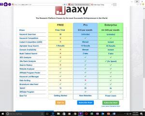 jaaxy-memberships