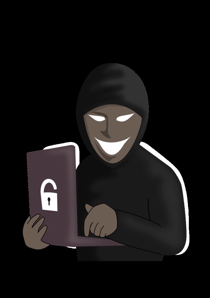Scary Hacker