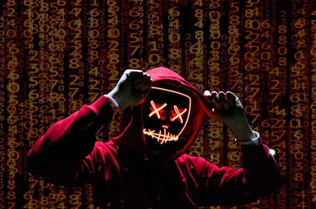 Evil Scary Hacker
