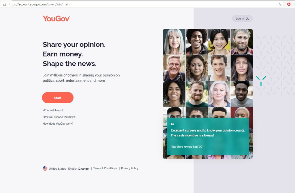 YouGov Homepage